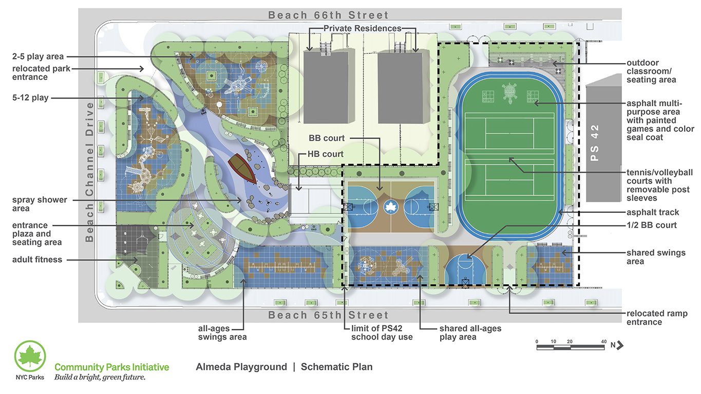 Design of Almeda Playground Reconstruction