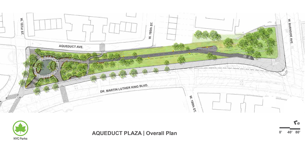 Design of Aqueduct Walk Plaza Reconstruction