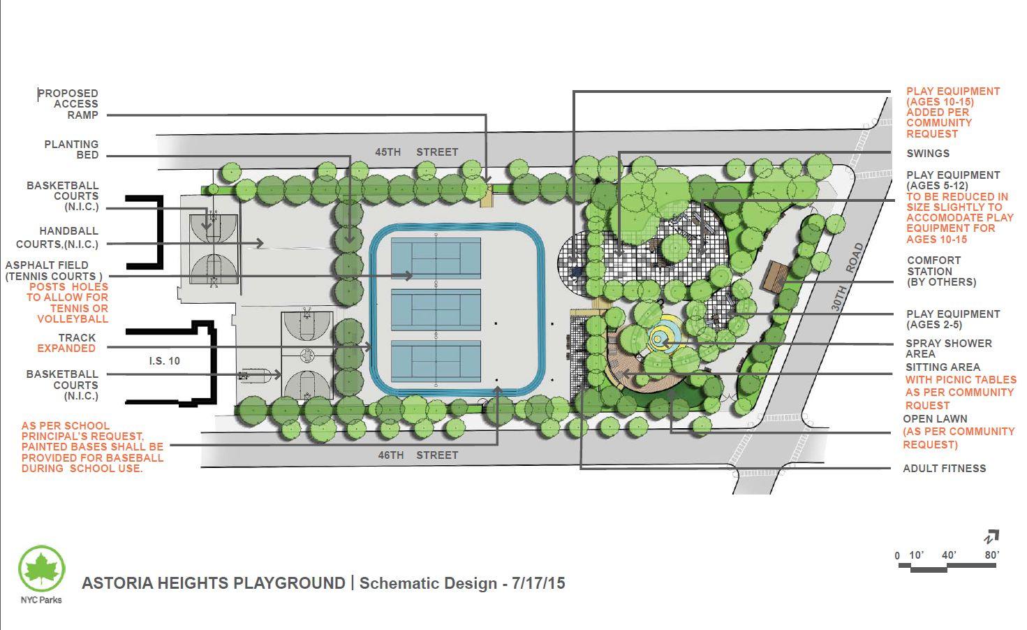 Design of Astoria Heights-JHS10 Playground Reconstruction