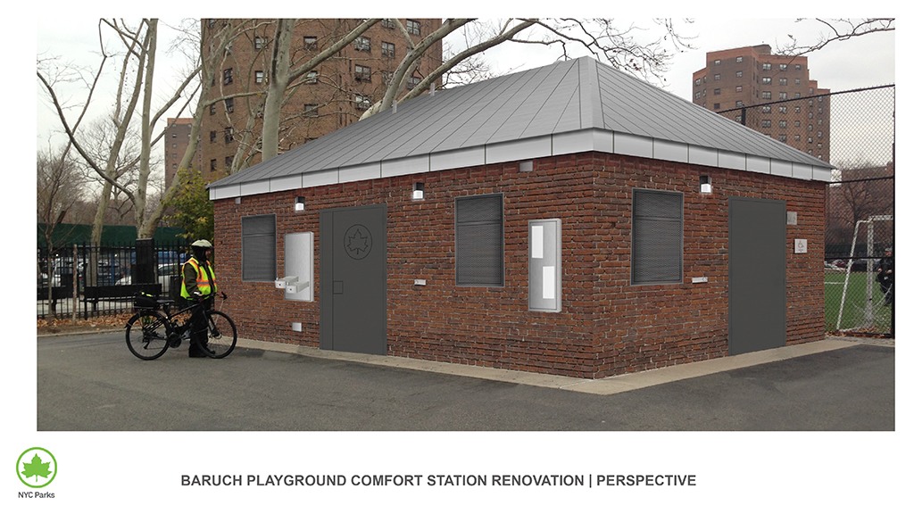 Design of Baruch Playground Comfort Station Reconstruction