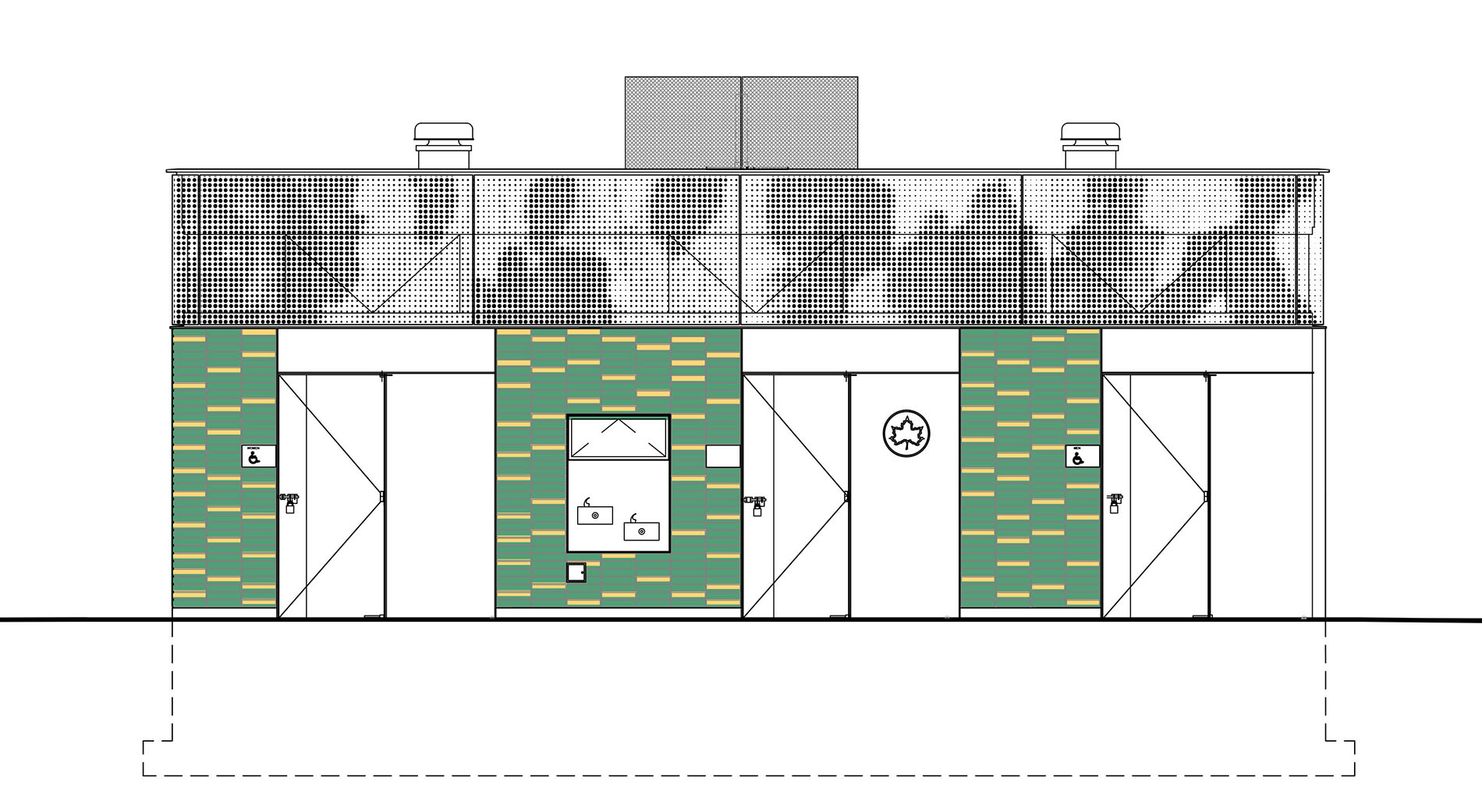 Design of Betsy Head Park Comfort Station Construction