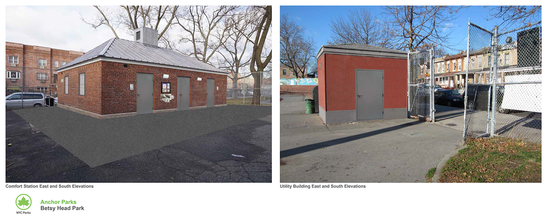 Design of Betsy Head Park Comfort Station & Utility Building Reconstruction