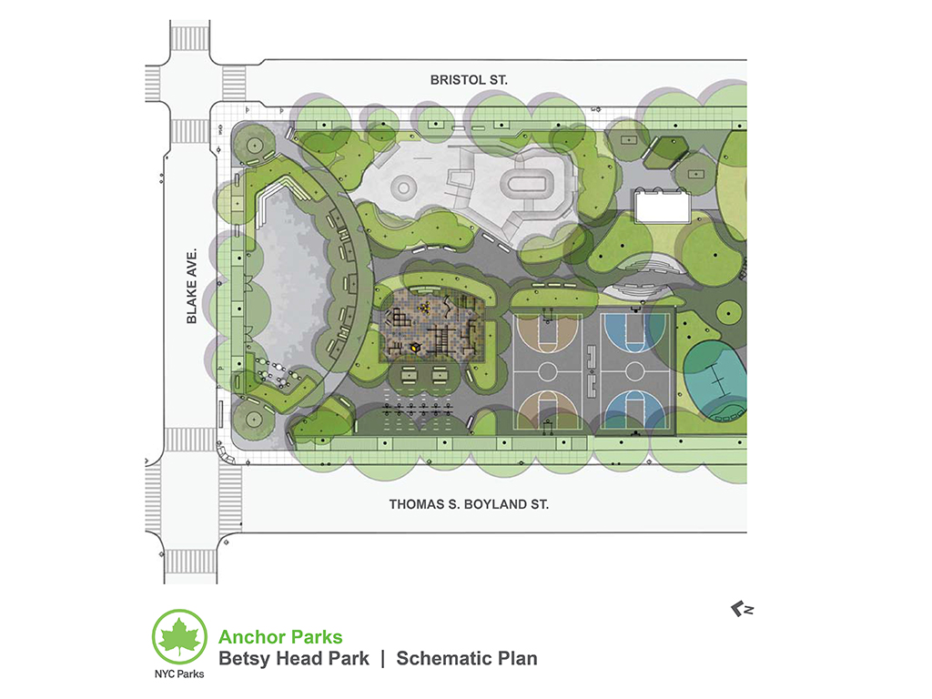 Design of Betsy Head Park Multi-Purpose Play Area Reconstruction