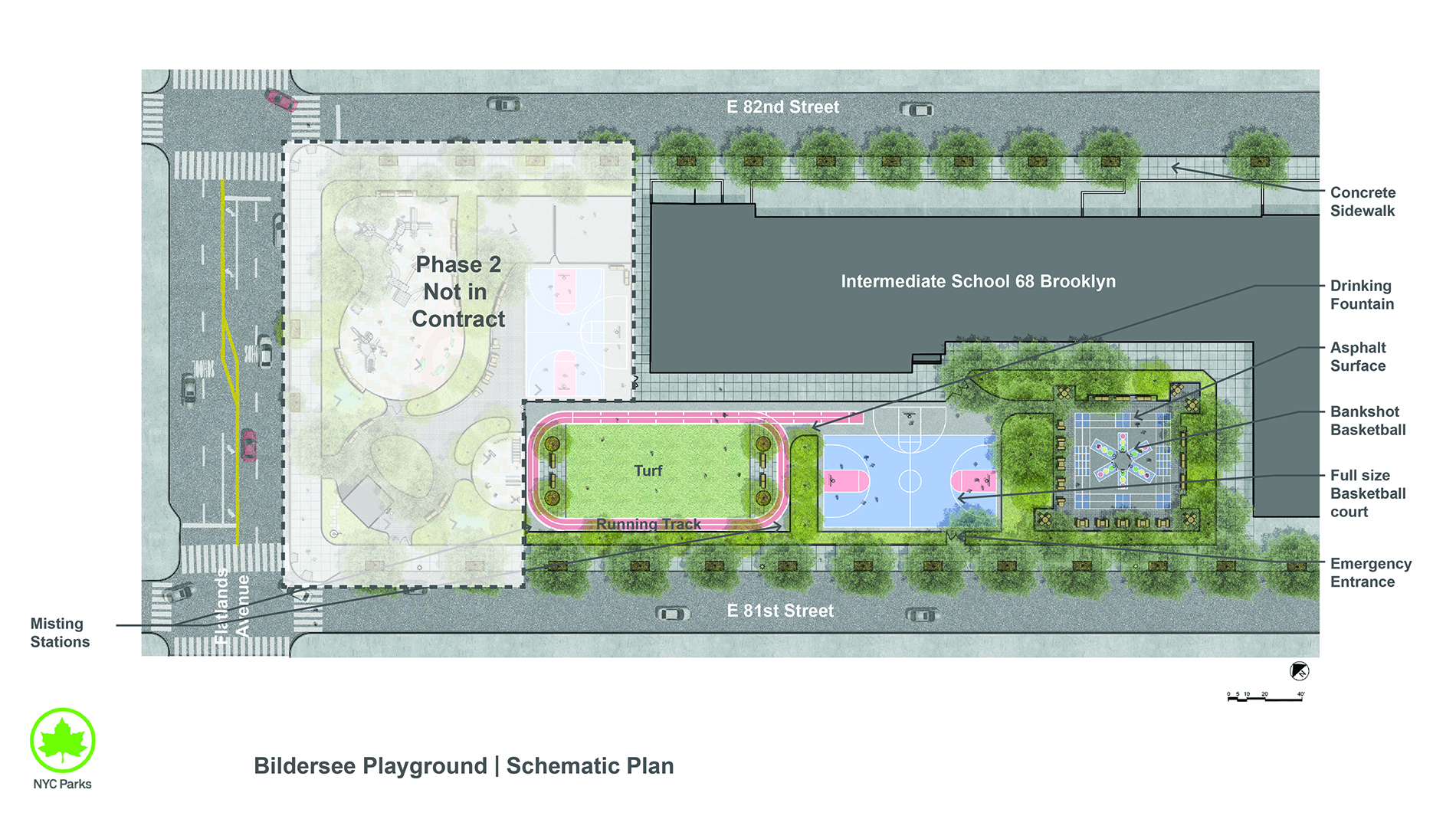 Design of Bildersee Playground Reconstruction Phase 1