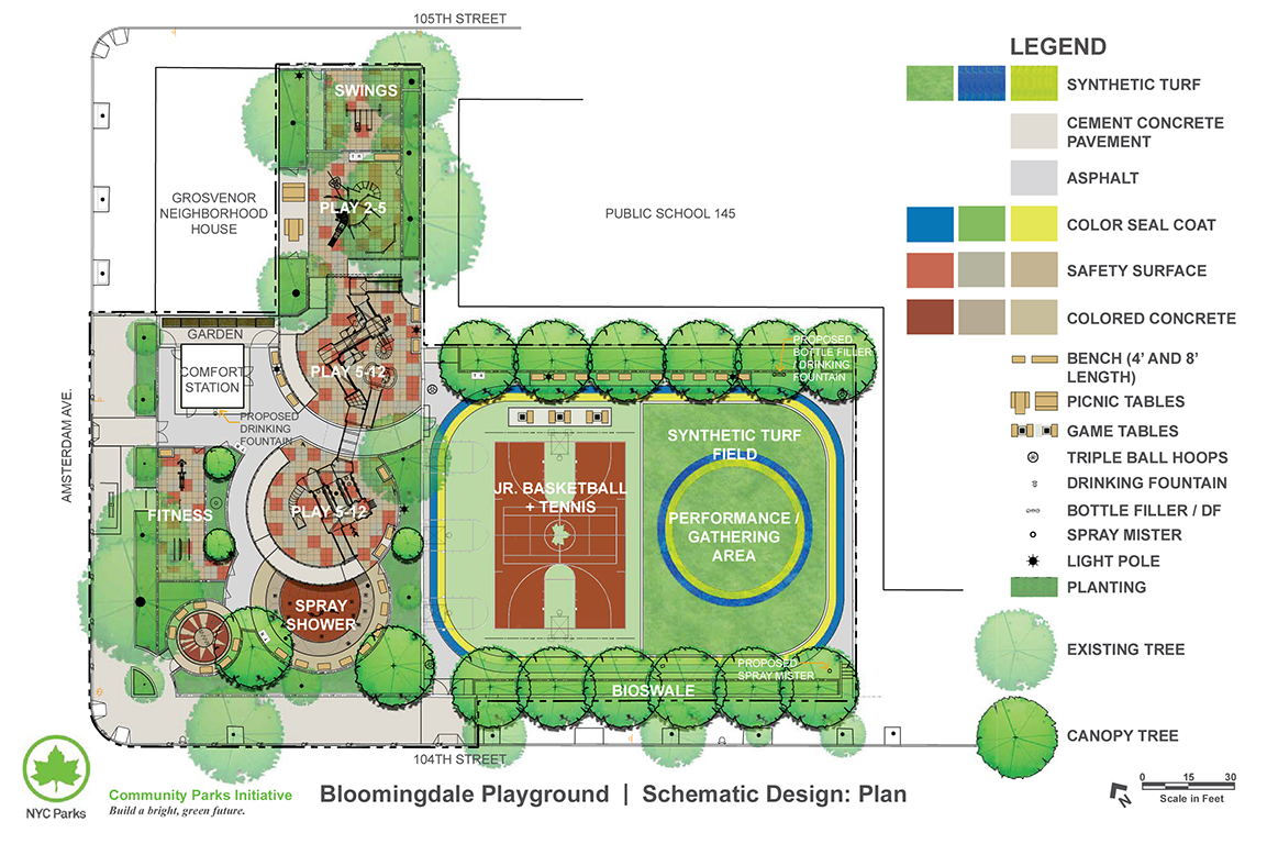 Design of Bloomingdale Playground Play Area Reconstruction