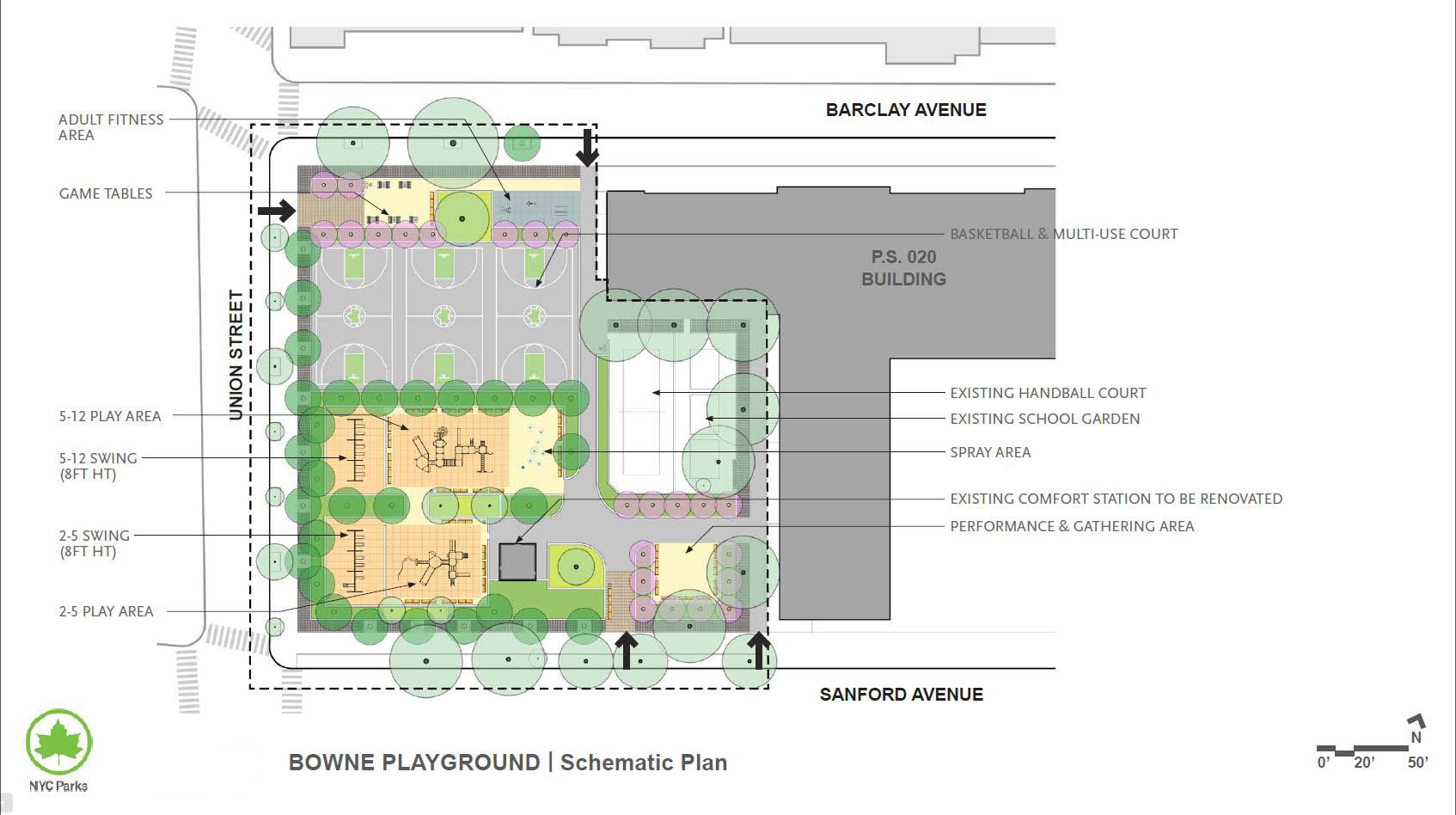 Design of Bowne Playground Reconstruction
