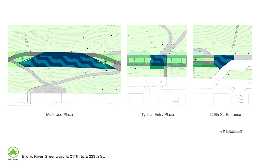 Design of Bronx River (Shoelace) Park Link Reconstruction