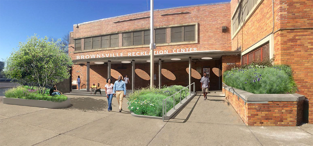 Design of Brownsville Park Recreation Center Reconstruction