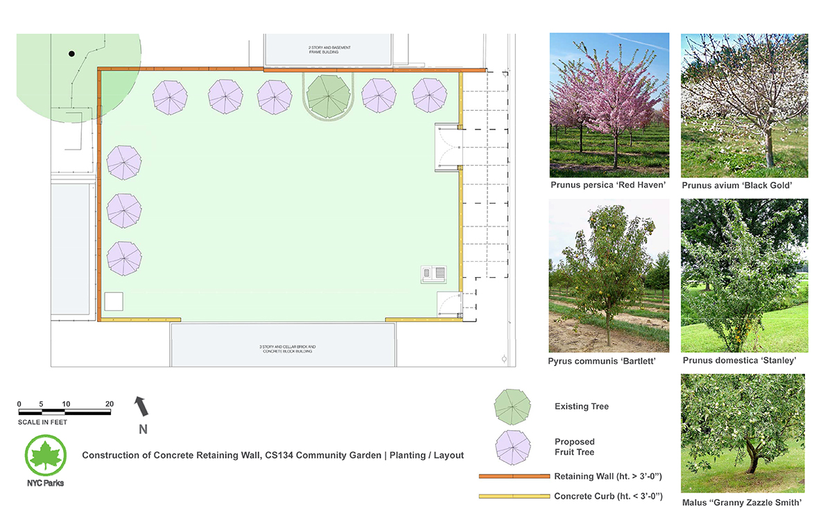Design of CS 134 Community Garden Reconstruction