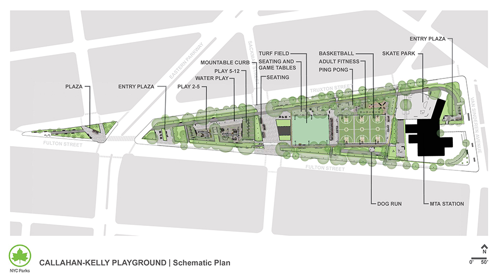 Design of Callahan Kelly Playground Reconstruction