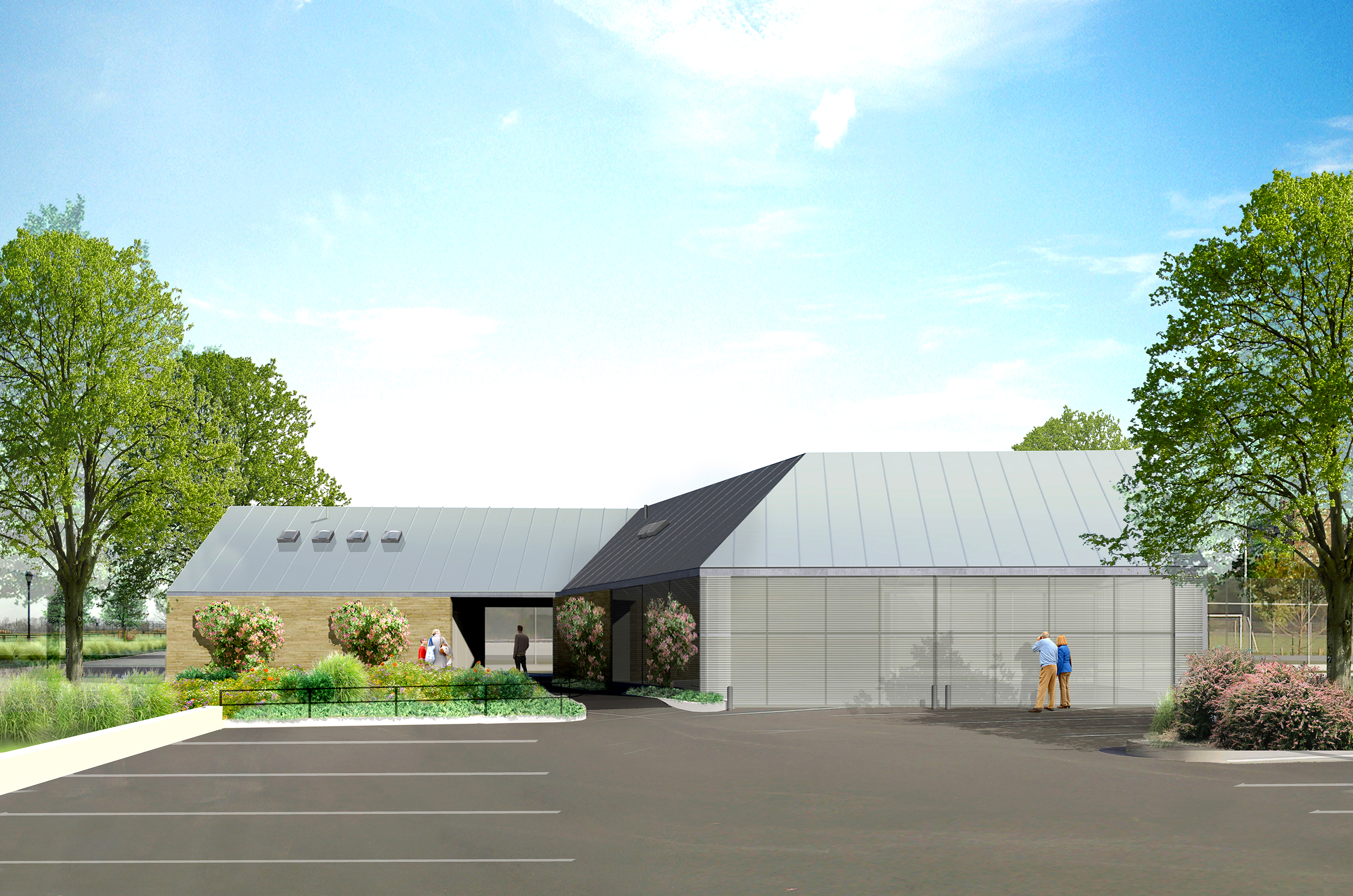 Design of Calvert Vaux Park Comfort Station and Maintenance Facility Construction