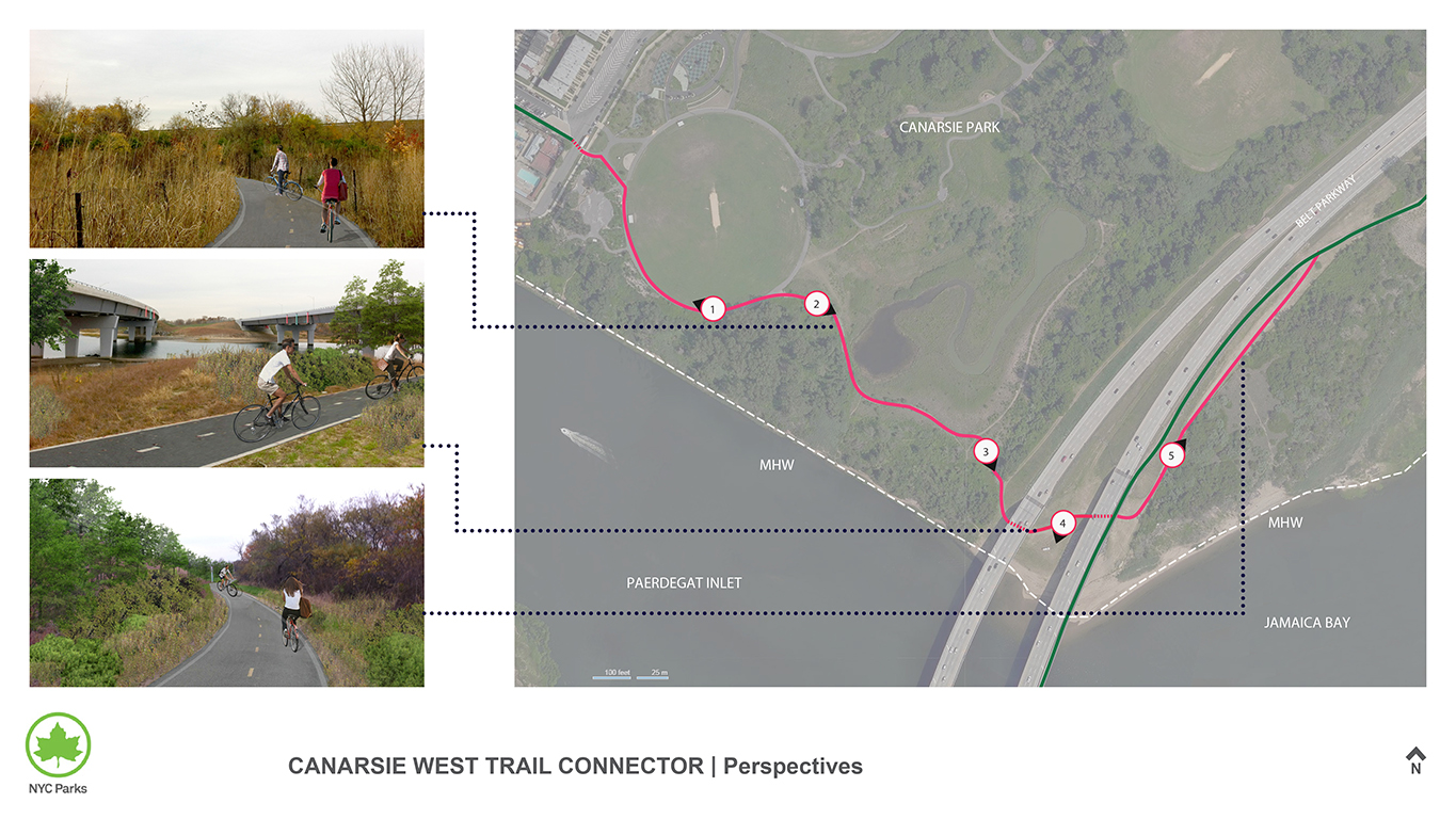 Design of Canarsie West Trail Connector Construction