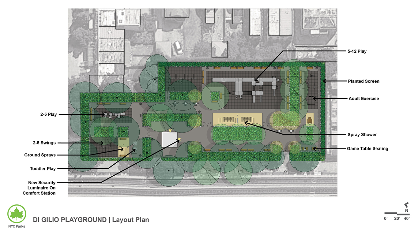 Design of Di Gilio Playground Reconstruction