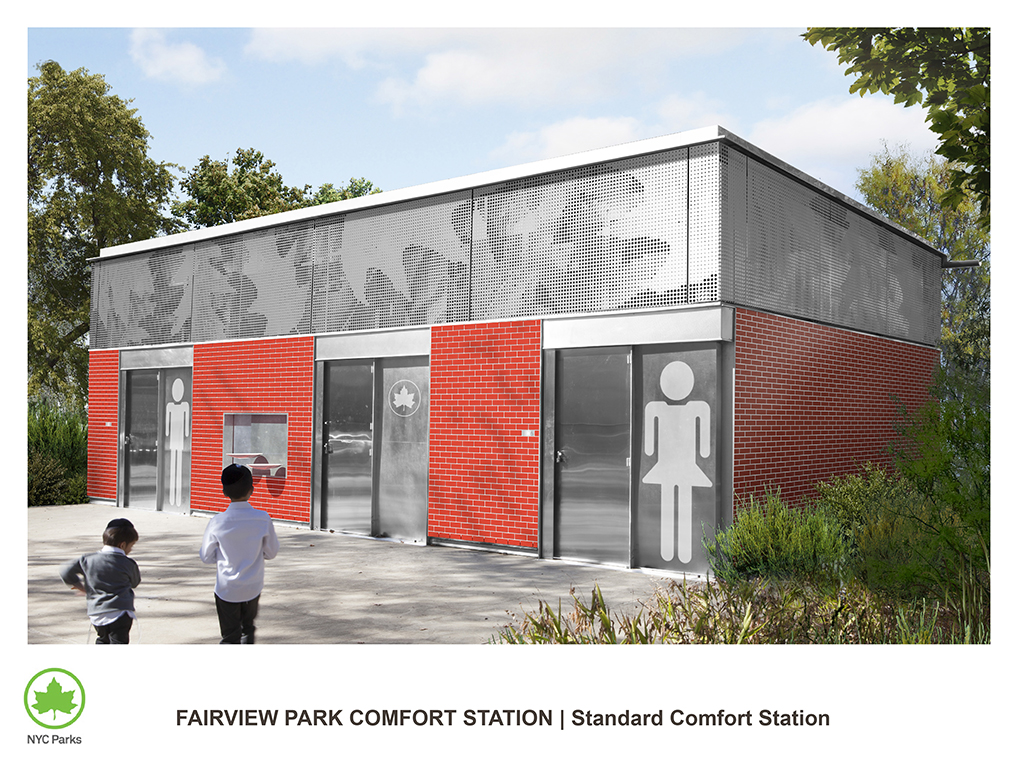 Design of Fairview Park Comfort Station Construction