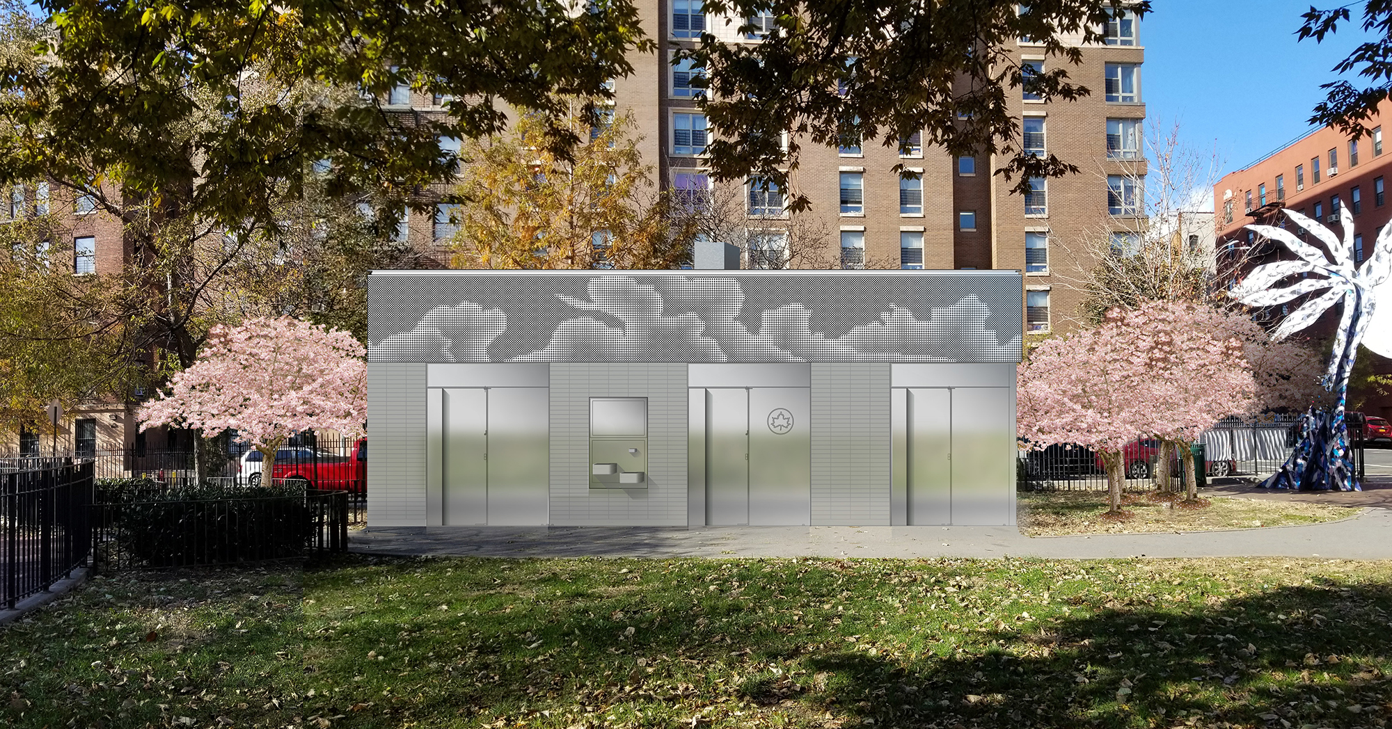 Design of Fox Playground Comfort Station Construction