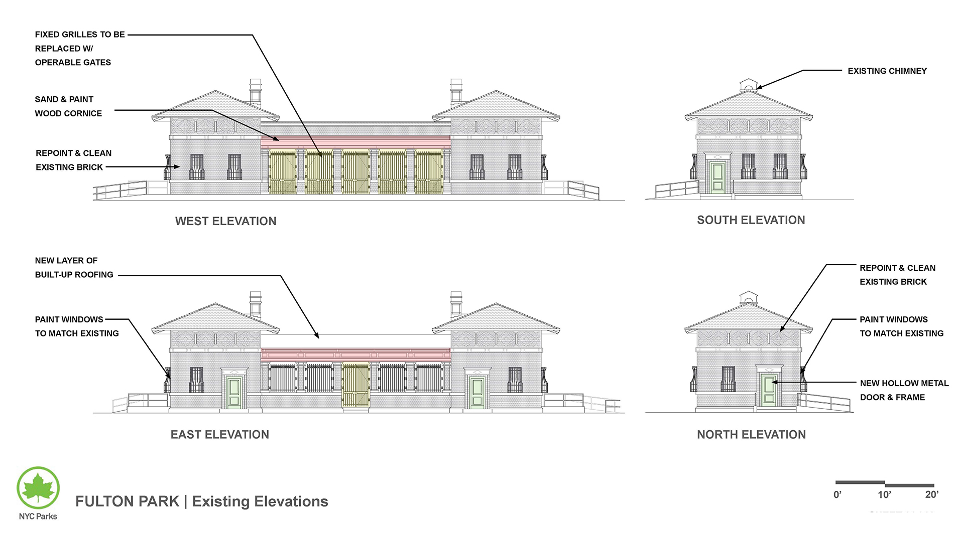 Design of Fulton Park Comfort Station Reconstruction