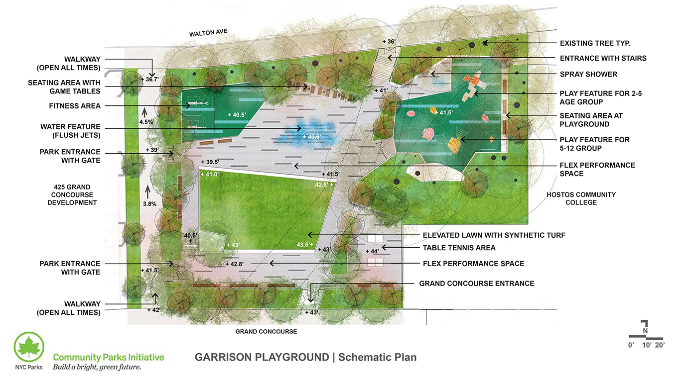Design of Garrison Playground Reconstruction