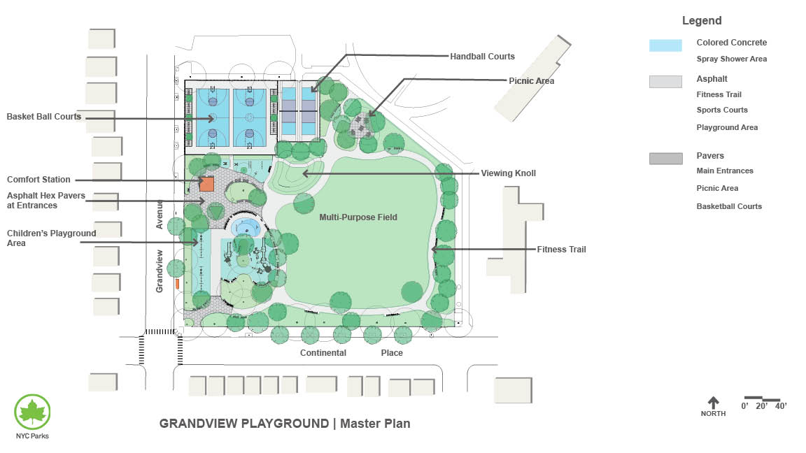 Design of Grandview Playground Reconstruction