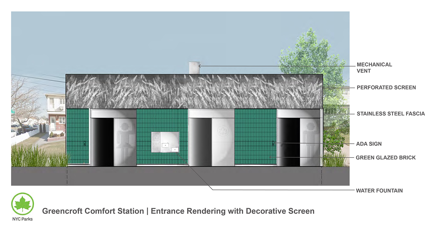 Design of Greencroft Playground Comfort Station Reconstruction