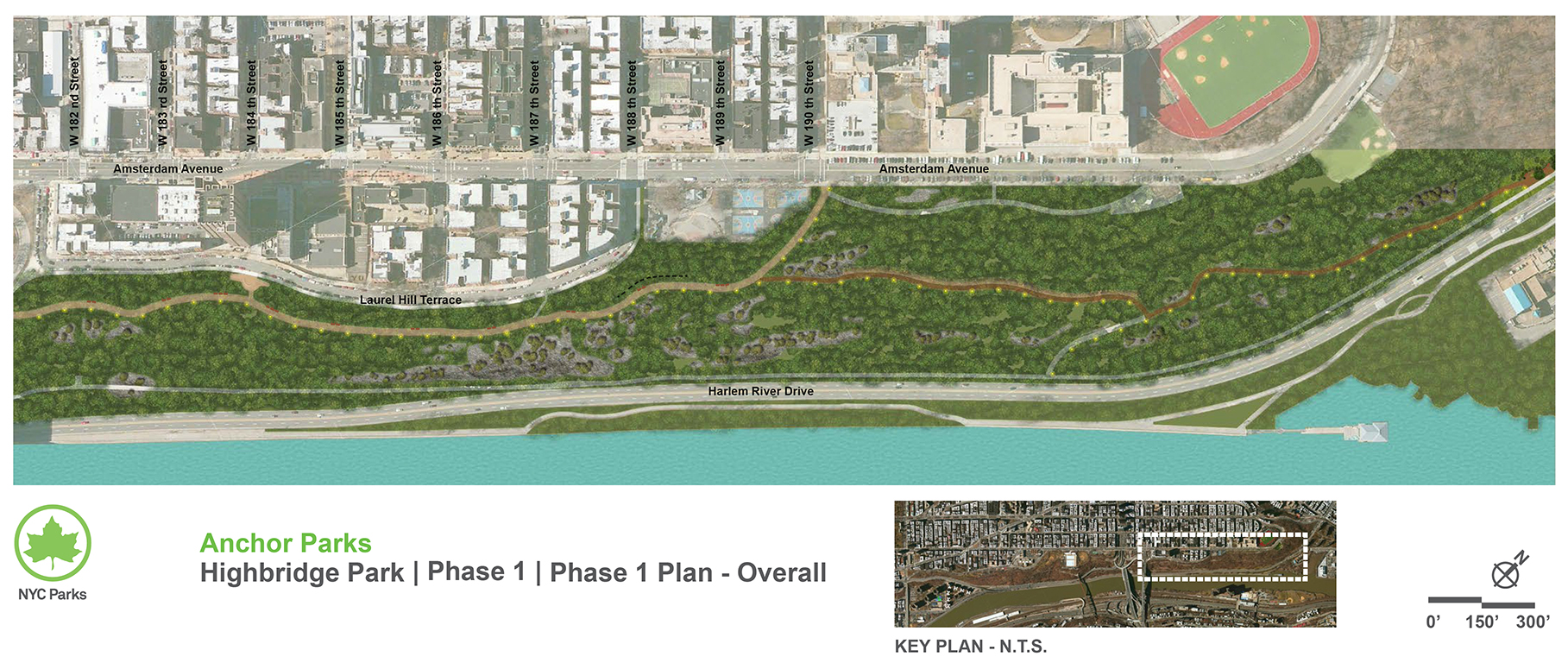 Design of Highbridge Anchor Park Reconstruction Phase I