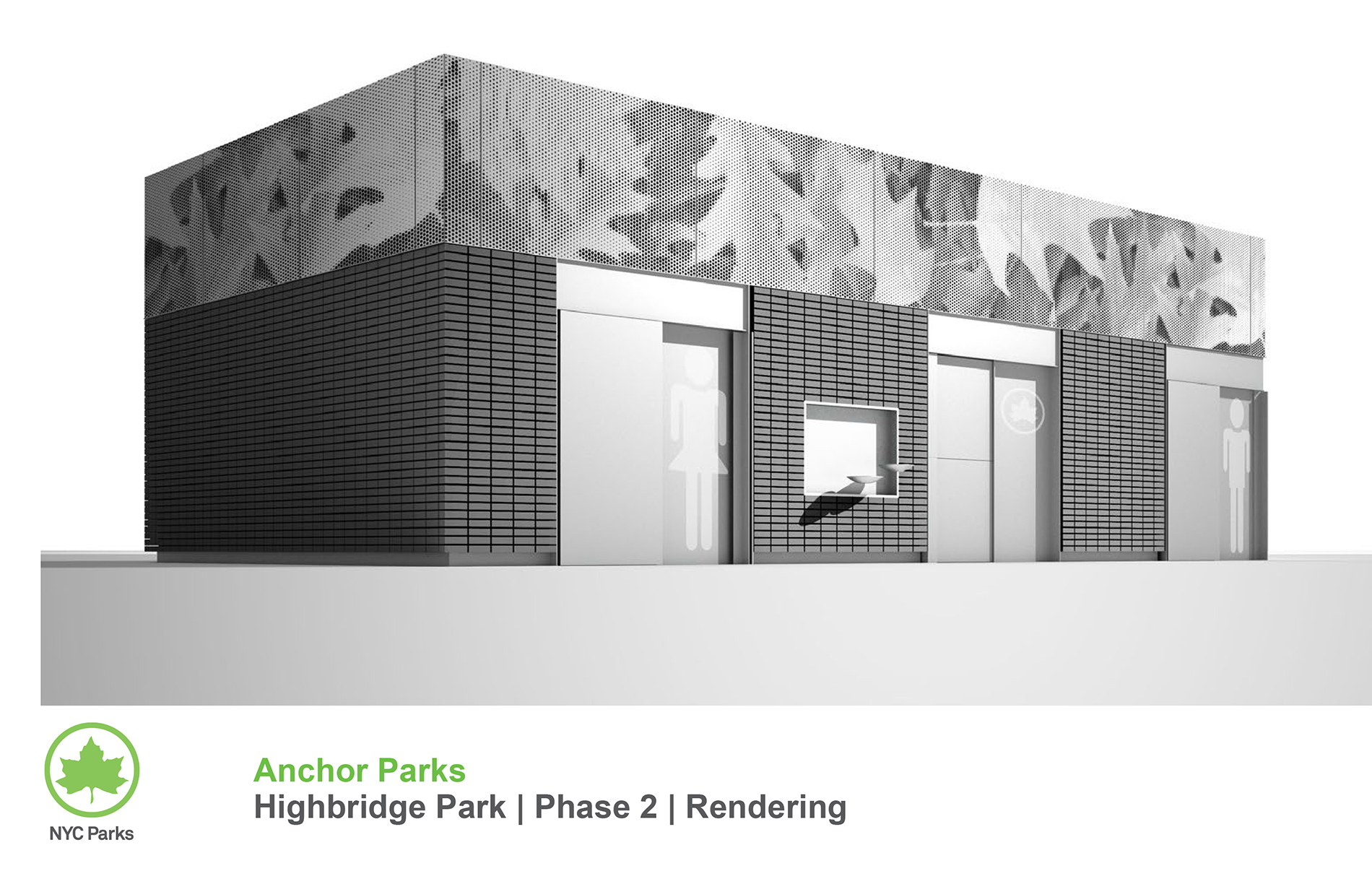 Design of Highbridge Park Comfort Station Construction