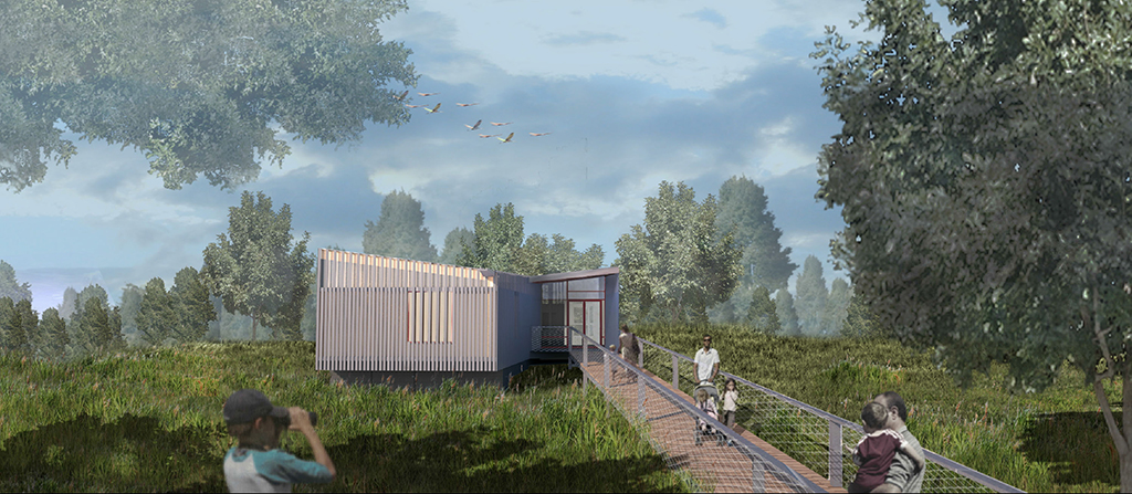 Design of Idlewild Park Nature Center Construction