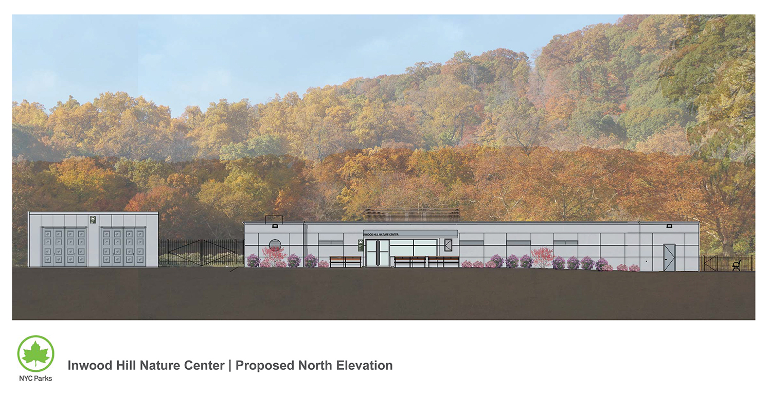 Design of Inwood Hill Nature Center Post-Sandy Reconstruction