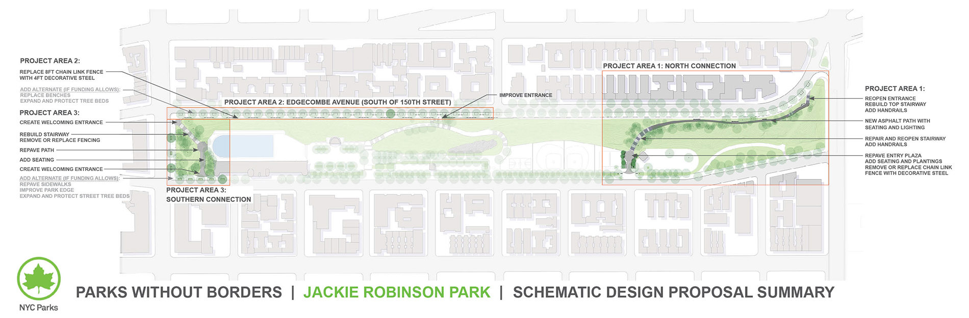 Design of Jackie Robinson Park Reconstruction