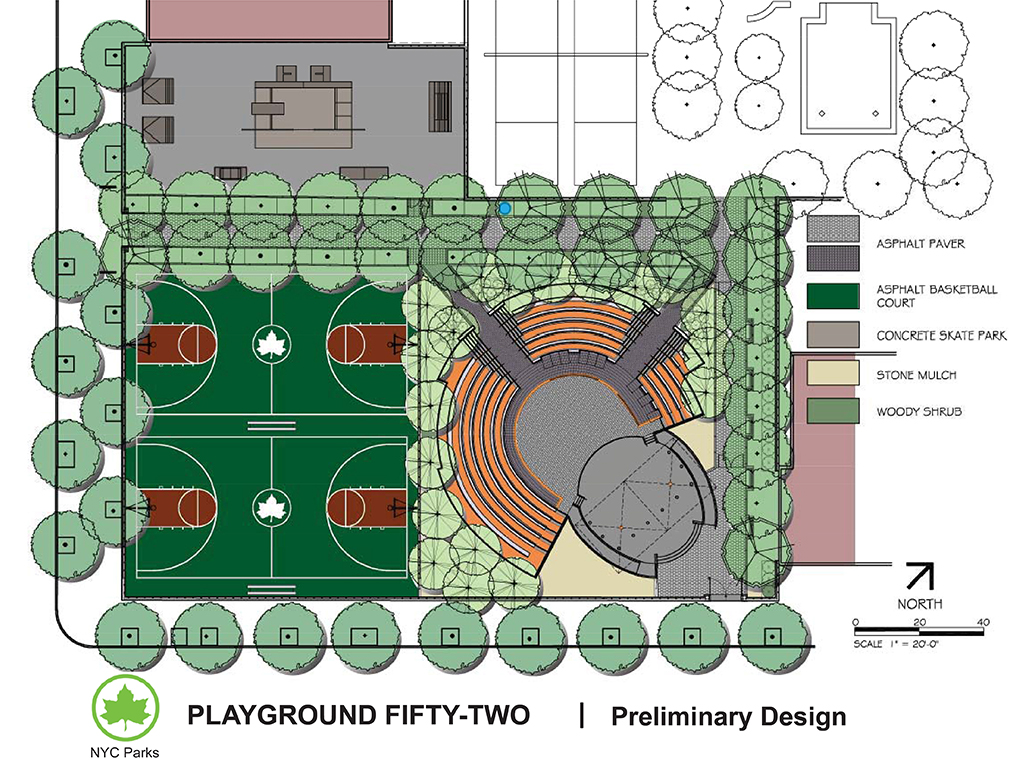 Design of Kelly Playground Skate Park Reconstruction