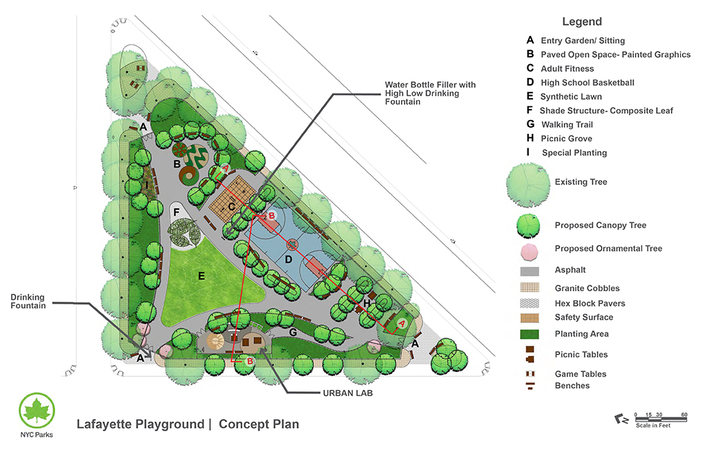 Design of Lafayette Playground Reconstruction