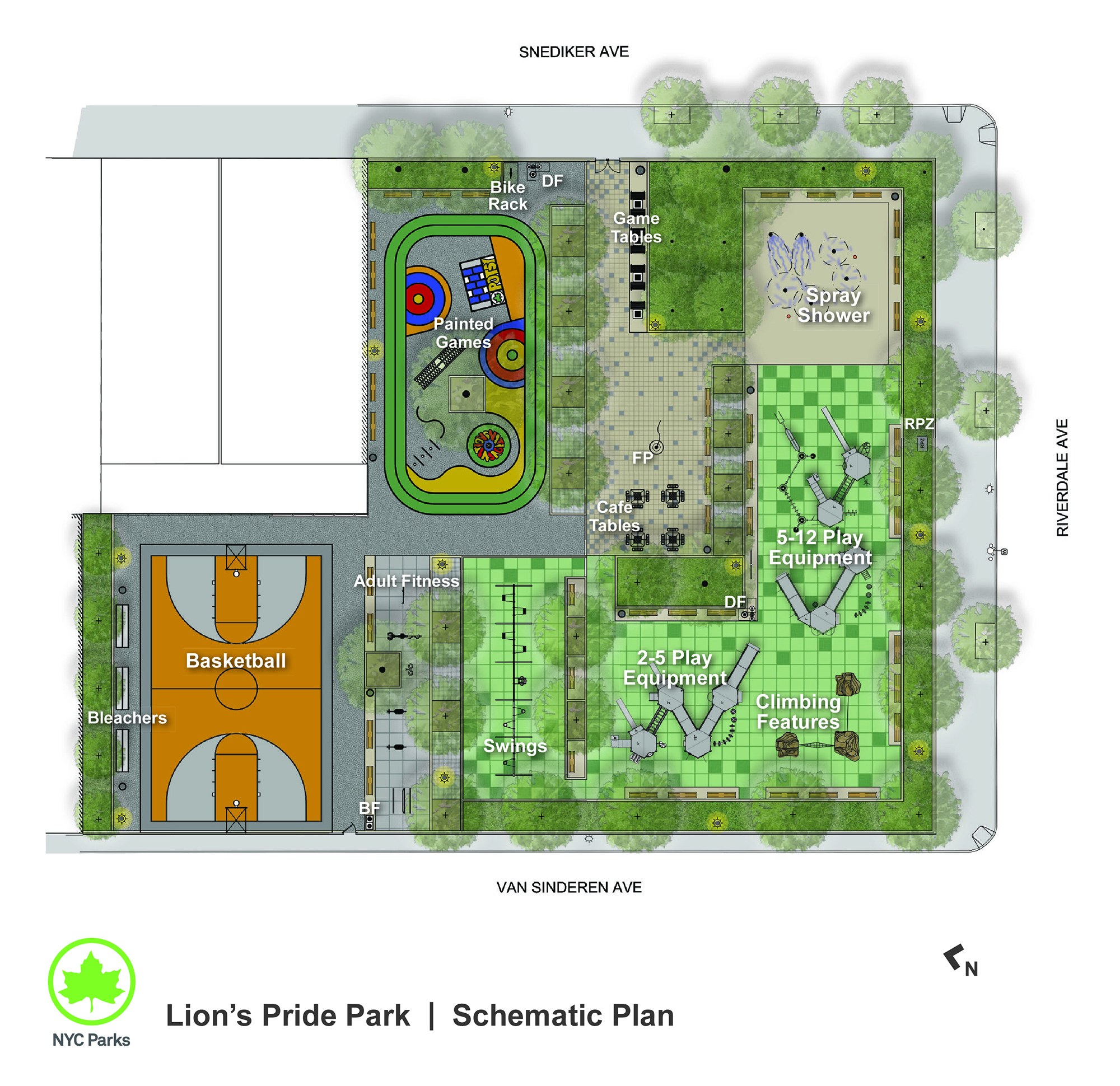 Design of Lion's Pride Playground Reconstruction
