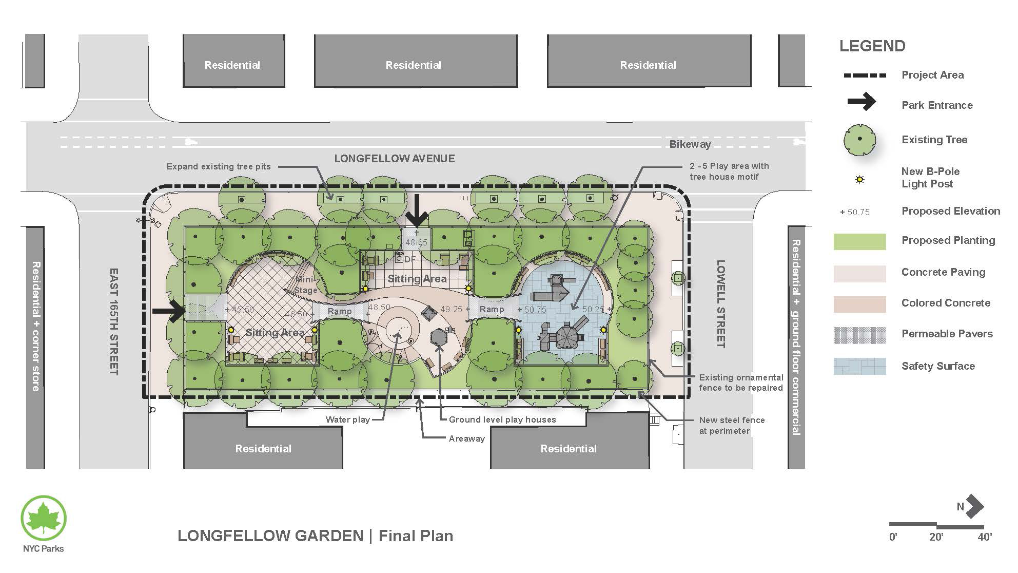 Design of Longfellow Gardens Reconstruction