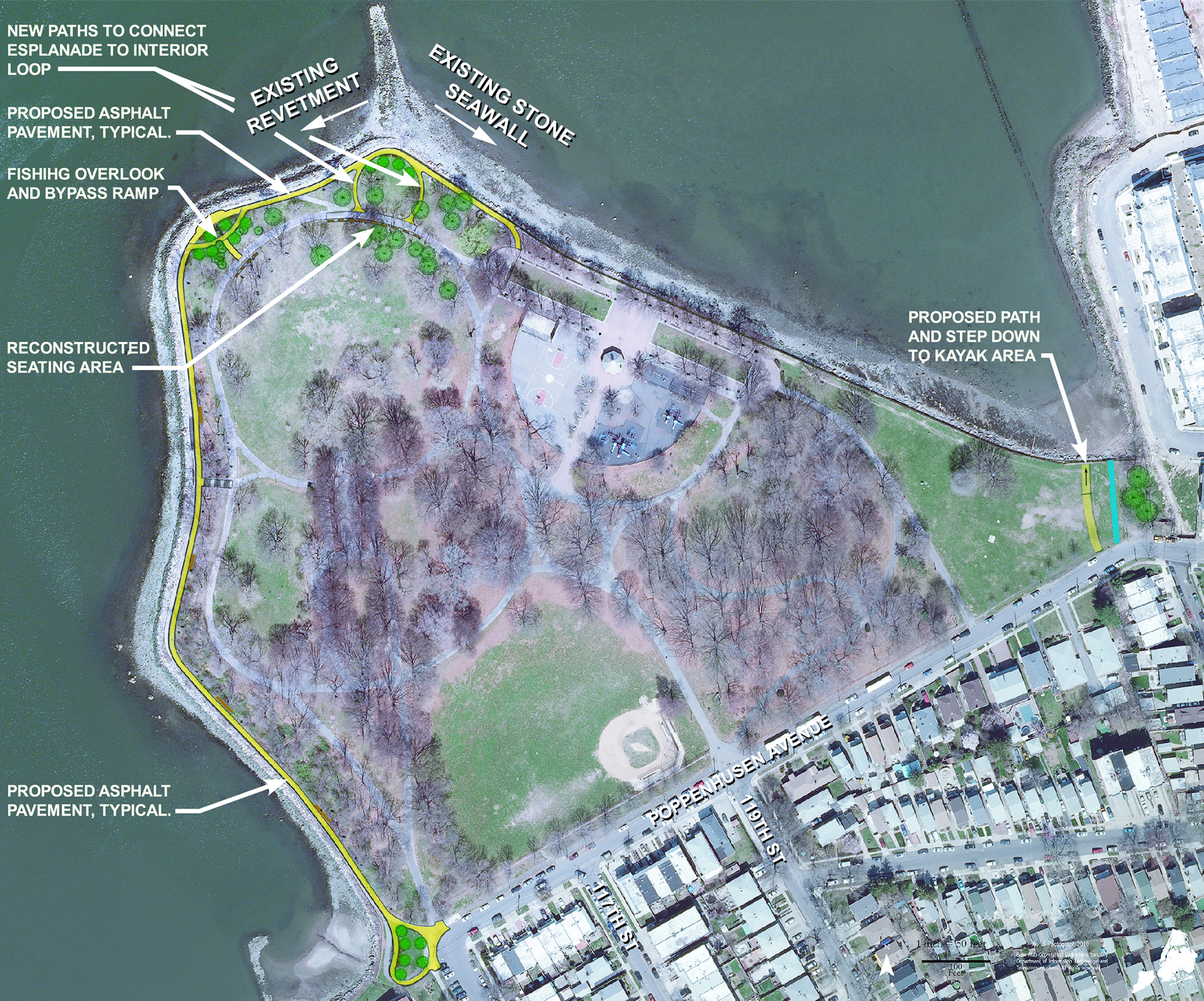 Design of MacNeil Park Esplanade Reconstruction