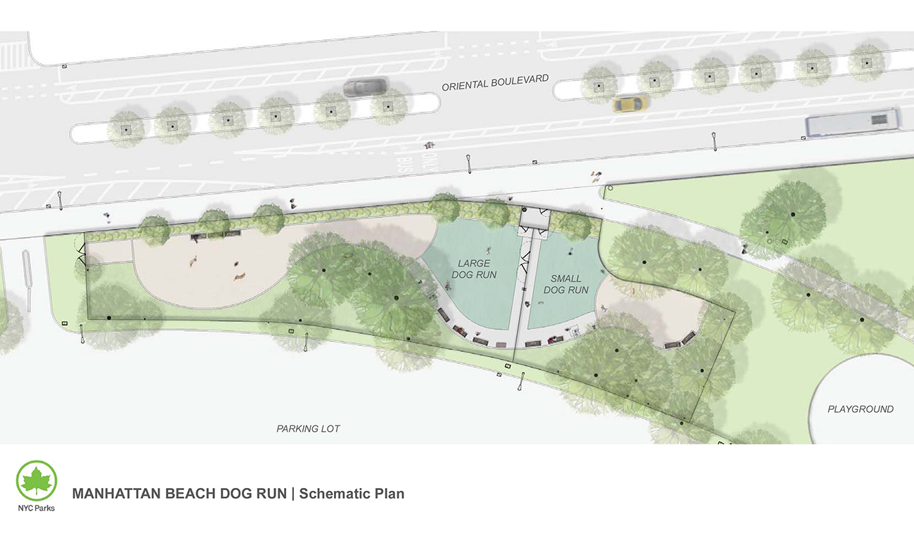 Design of Manhattan Beach Dog Run Reconstruction