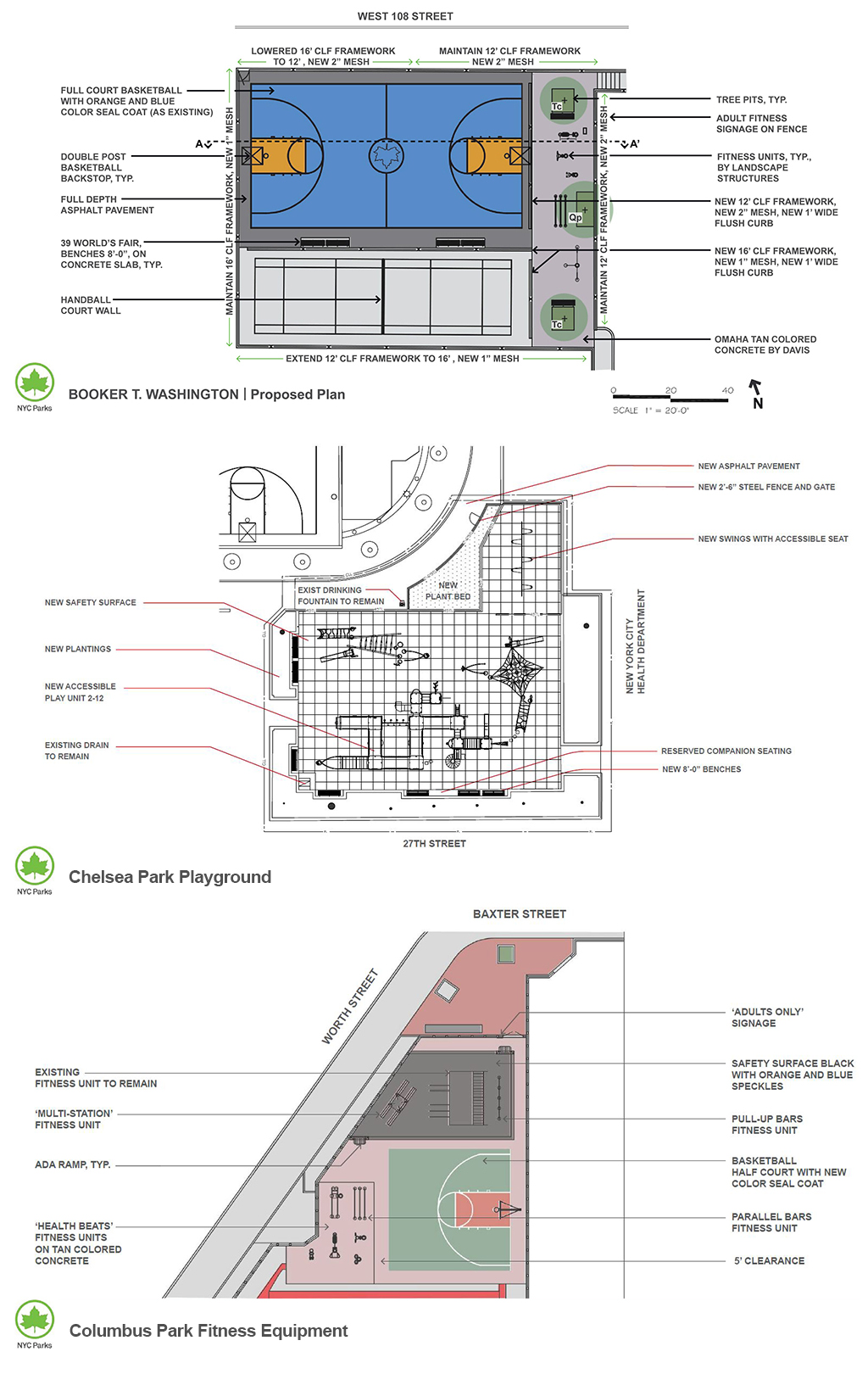 Design of Manhattan General Site Work (MG-914MA)