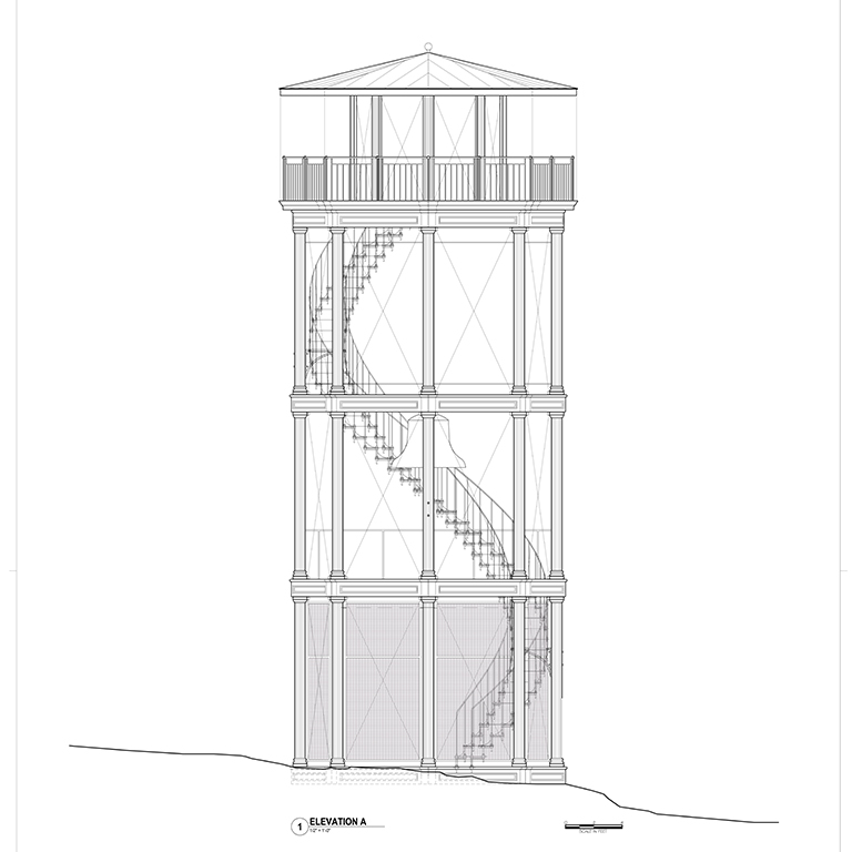 Design of Marcus Garvey Park Fire Watchtower Restoration