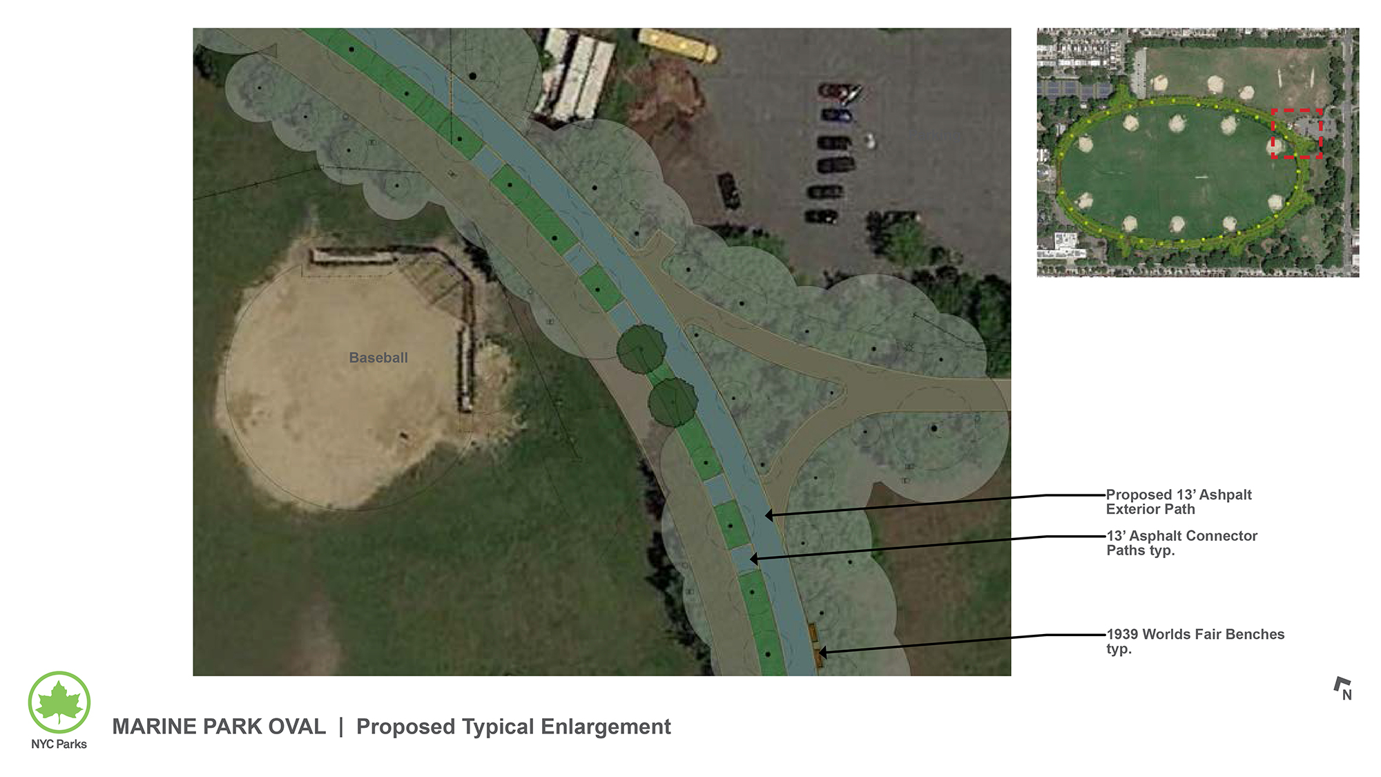 Design of Marine Park Oval Outer Ring Reconstruction