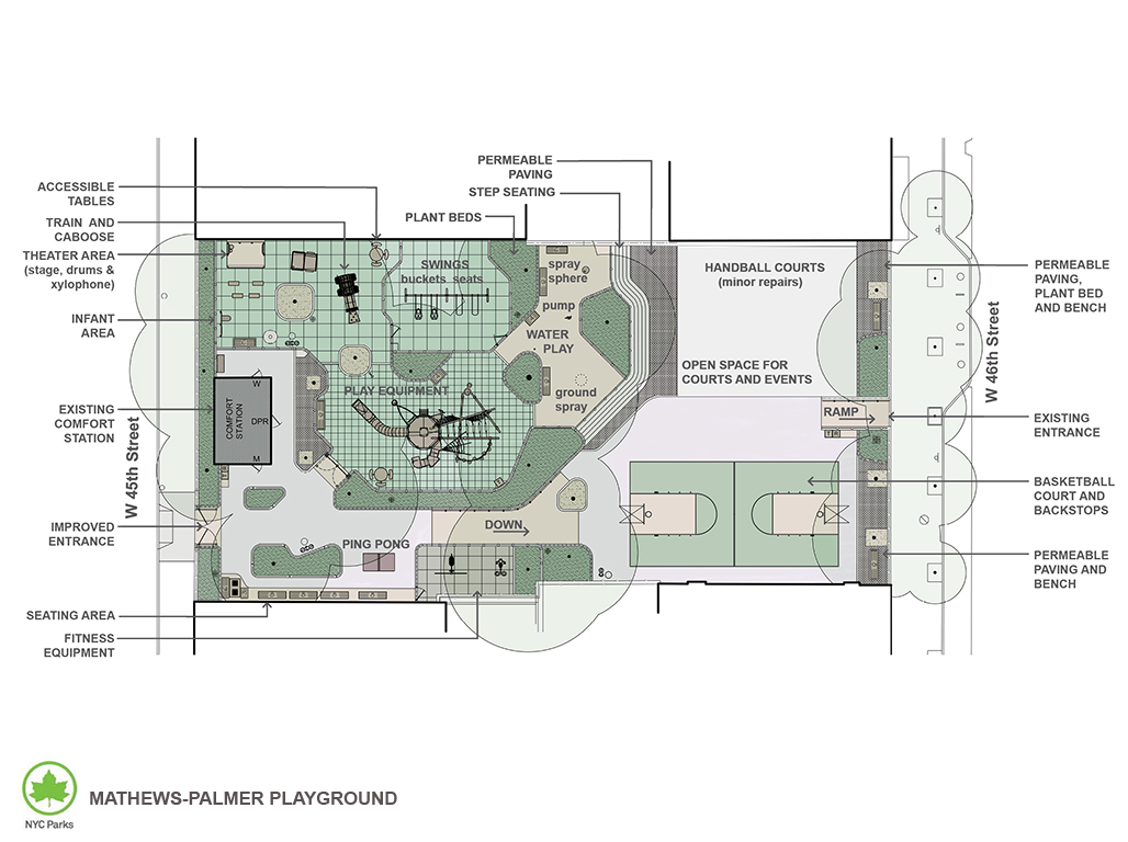 Design of Mathews-Palmer Playground Reconstruction