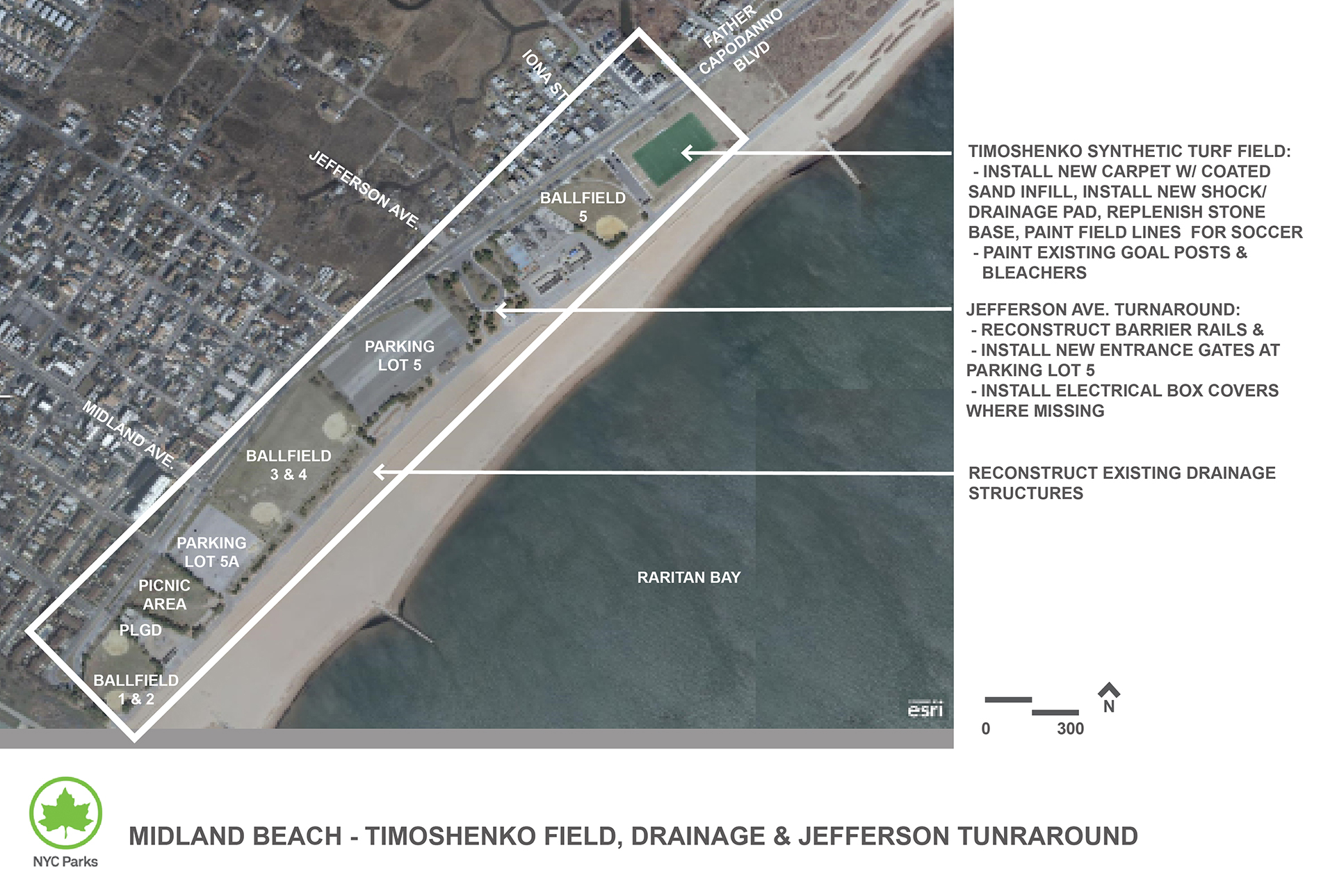 Design of Midland Beach Landscape and Drainage Reconstruction