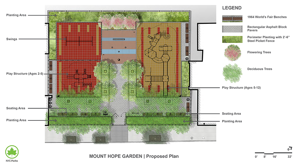 Design of Mt. Hope Garden Play Area Reconstruction