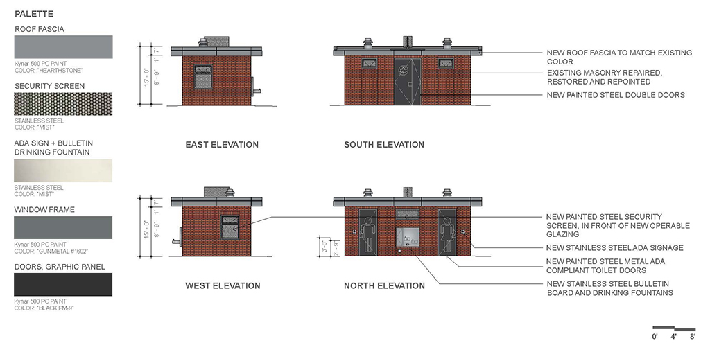 Design of Newport Playground Comfort Station Reconstruction
