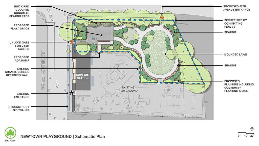 Design of Newtown Playground Reconstruction