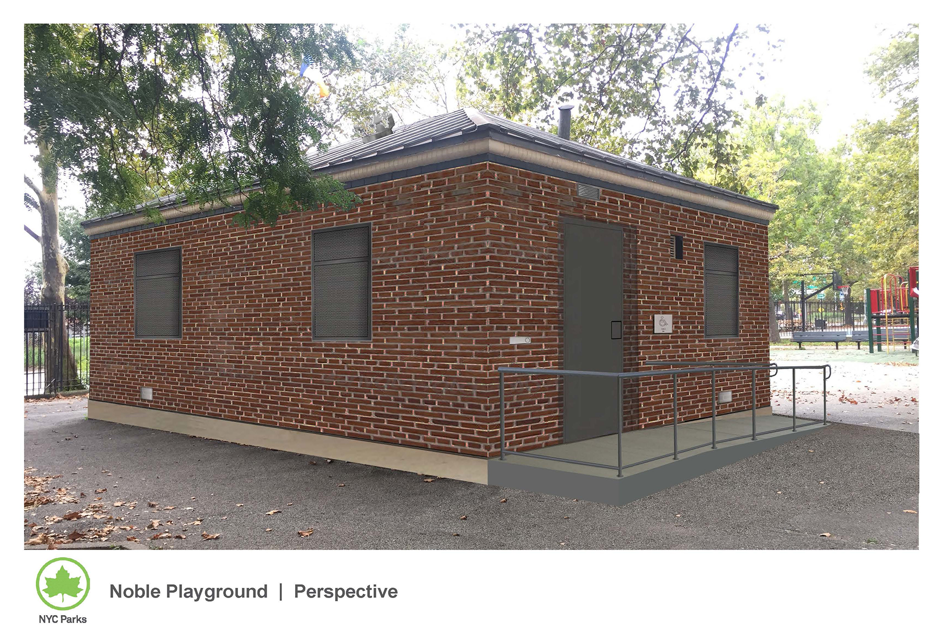 Design of Noble Playground Comfort Station Reconstruction