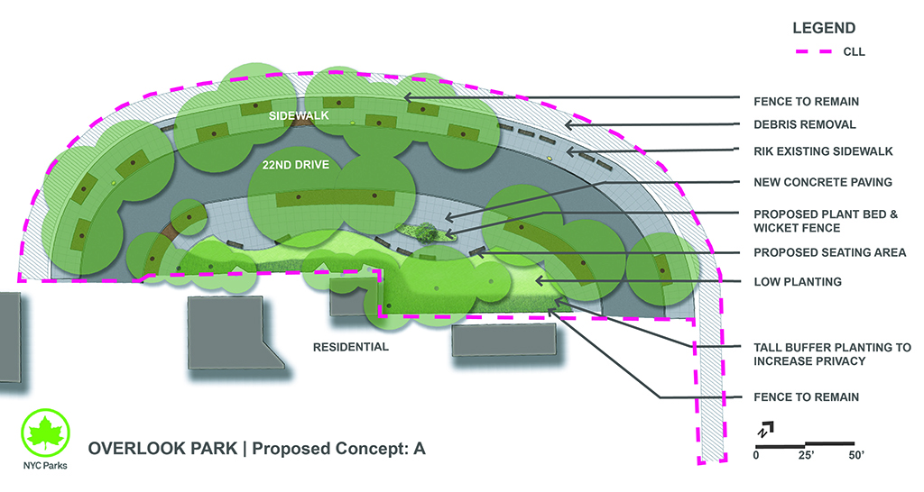 Design of Overlook Park Seating Area Reconstruction