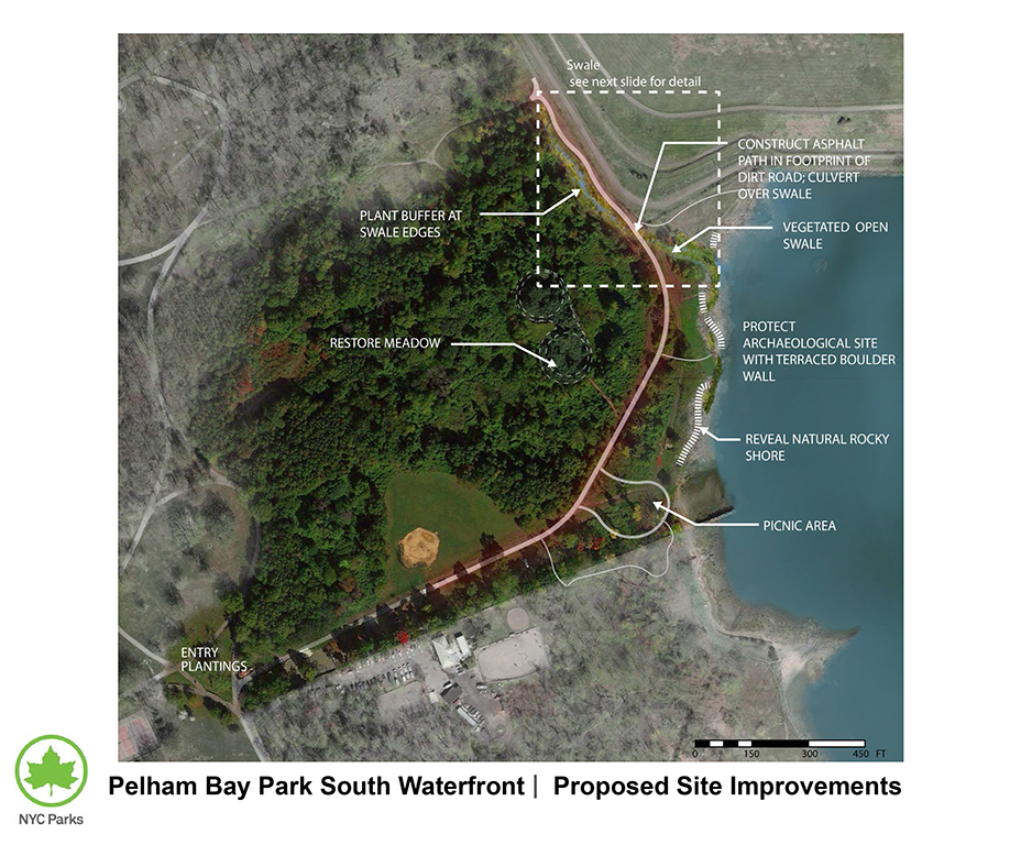 Design of Pelham Bay Park Natural Shoreline Reconstruction