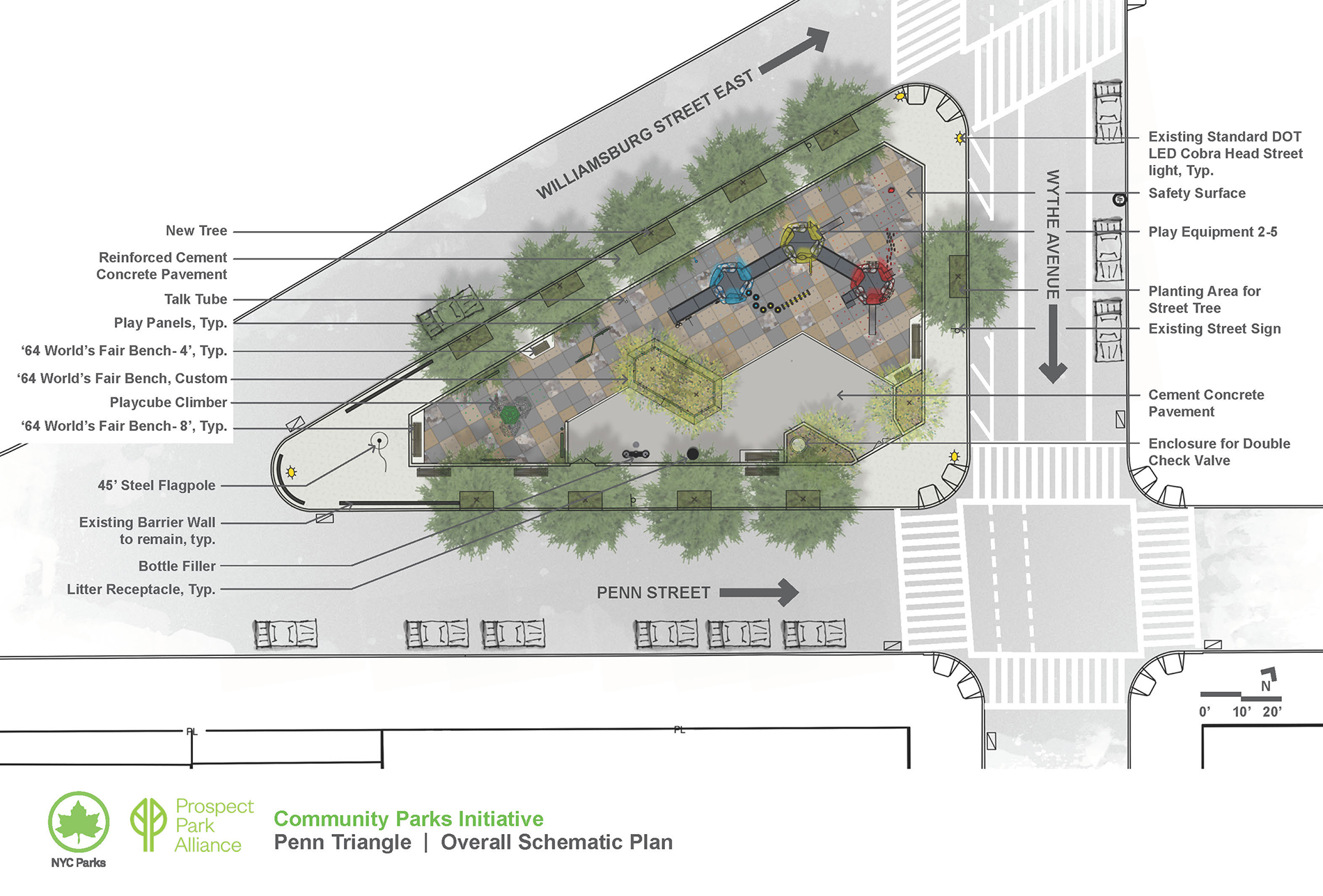 Design of Penn Triangle Reconstruction