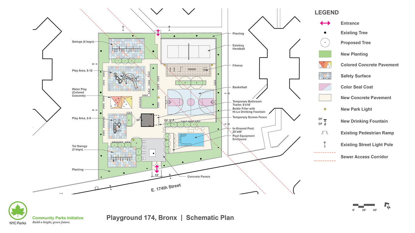 Design of Playground 174 Play Area Reconstruction