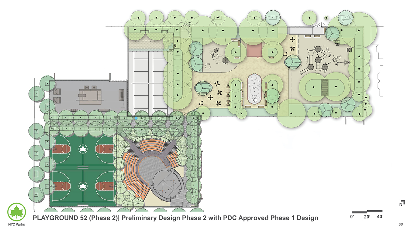 Design of Playground 52 Reconstruction