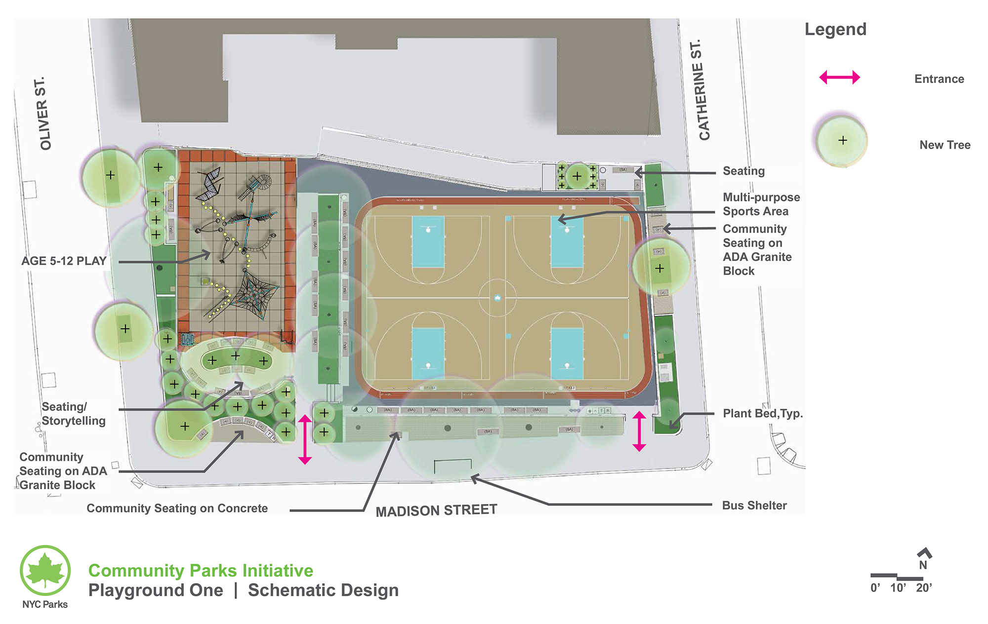 Design of Playground One Reconstruction