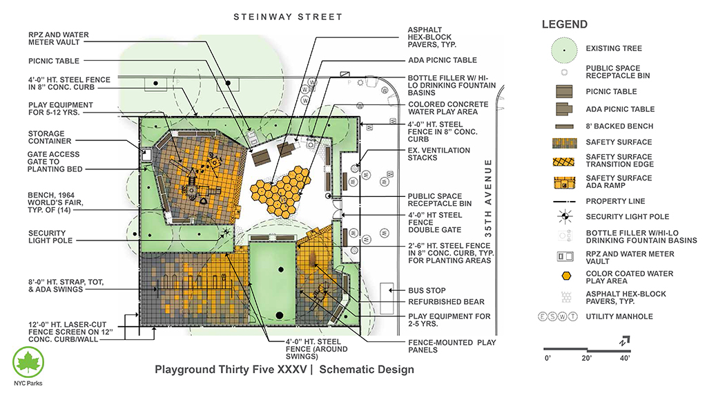 Design of Playground Thirty Five XXXV Reconstruction